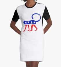 Let's Not Monkey This Up! Graphic T-Shirt Dress