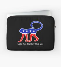 Let's Not Monkey This Up! Laptop Sleeve