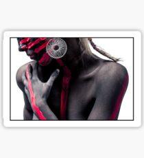 Tribal Woman Sticker