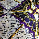 African Ankara Fabric Print by CrazyCraftLady