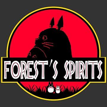 Forest's spirits by spiderkilla