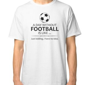 9fdf422c7eb Football Stickers and Shirts for Soccer and Futbol Lovers - A Day ...