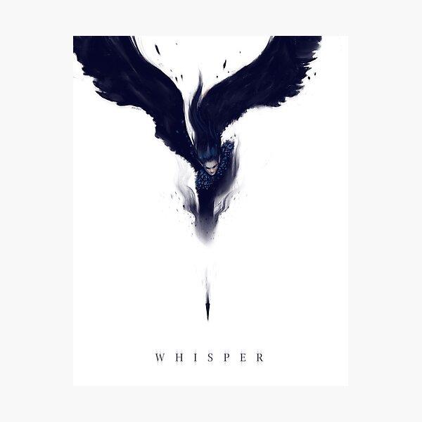 Whisper (text version) Photographic Print