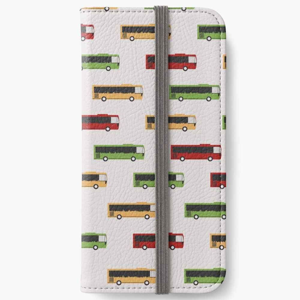 Auckland City Buses iPhone Wallet