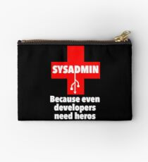 SYSADMIN: Because even developers need heros Studio Pouch