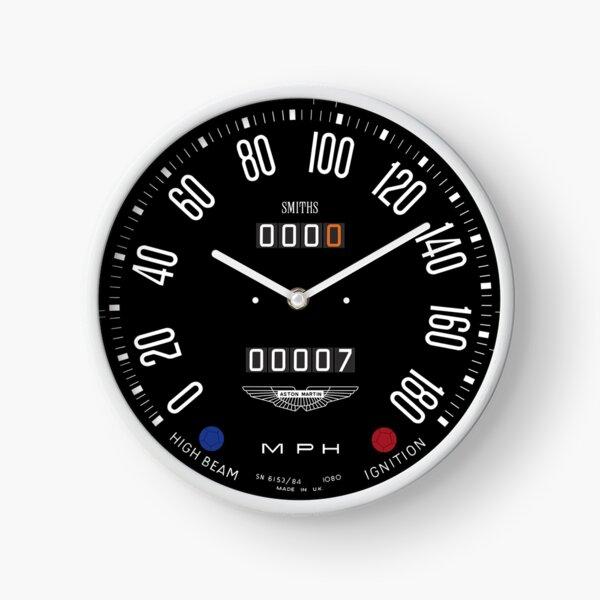 Classic Aston Martin DB5 Speedometer Dial/Gauge Clock