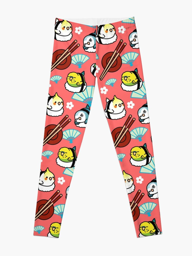 Alternate view of Sushi Time with Cody the Lovebird & Friends Leggings