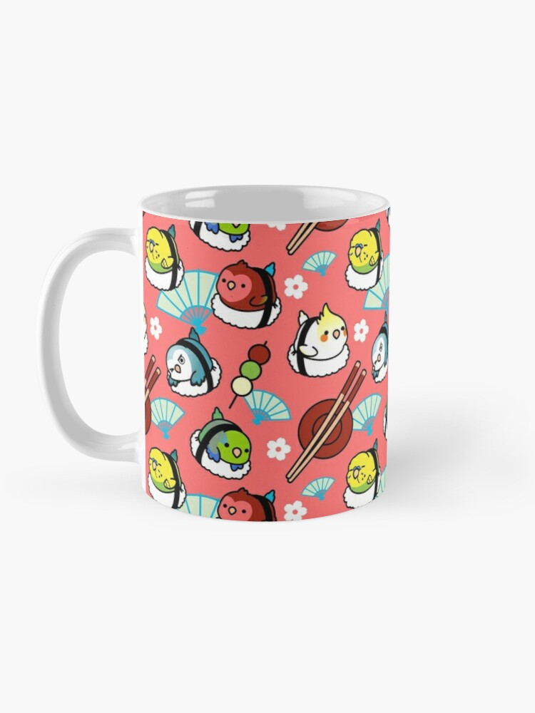 Alternate view of Sushi Time with Cody the Lovebird & Friends Mug