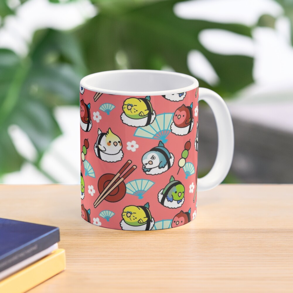 Sushi Time with Cody the Lovebird & Friends Mug