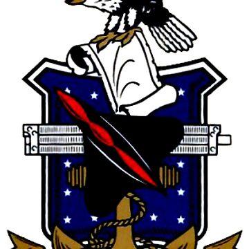 Test Pilot School (USNTPS) Crest by Quatrosales