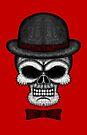 Errorface gentleman Skull by errorface