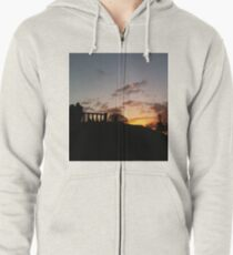 Fire in the Sky Zipped Hoodie