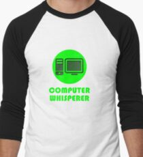 Computer Whisperer Men's Baseball ¾ T-Shirt