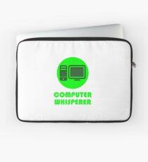 Computer Whisperer Laptop Sleeve