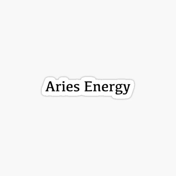 Aries Energy Sticker
