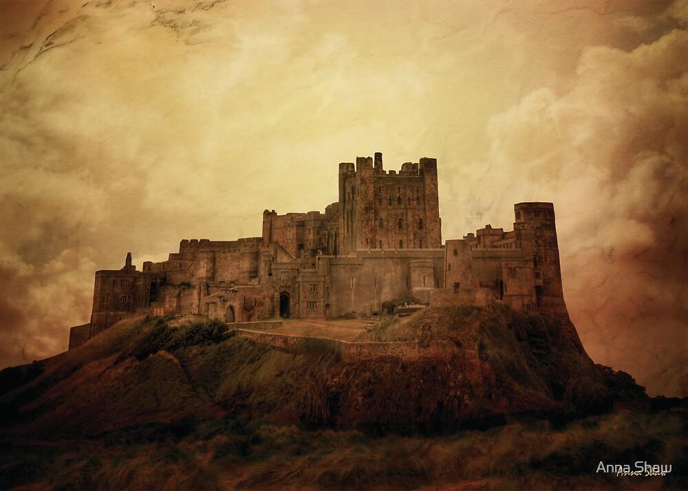 Bamburgh Castle by Anna Shaw