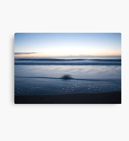 Ballyconnigar beach at dawn, County Wexford, Ireland Canvas Print