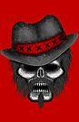 Errorface Gangster Skull by errorface