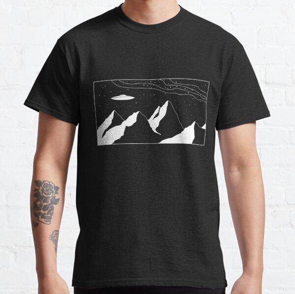 Mountain Range UFO Classic T-Shirt