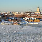 Winter in Helsinki by vonb