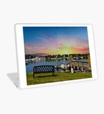 Sunset in Rhode Island Laptop Skin