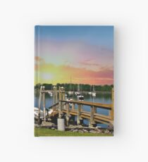 Sunset in Rhode Island Hardcover Journal