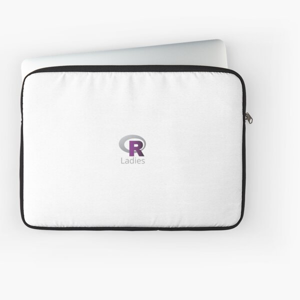 R Ladies Logo Laptop Sleeve