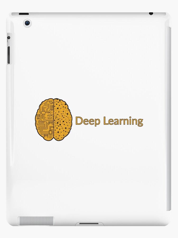 'Deep Learning Logo' iPad Case/Skin by Programming Swag