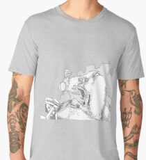 Mandrill biker is angry Men's Premium T-Shirt