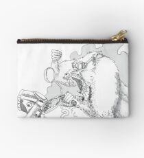 Mandrill biker is angry Studio Pouch