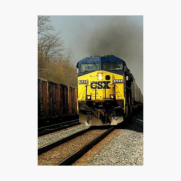 CSX 649  Photographic Print