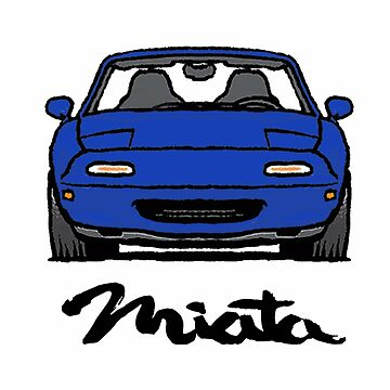 MX5 Miata NA Blue by Woreth
