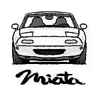 MX5 Miata NA White by Woreth