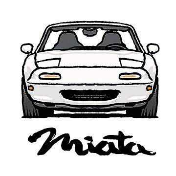 MX5 Miata NA White by Woreth