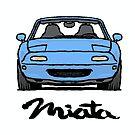 MX5 Miata NA Light Blue by Woreth