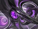 Violaceous Abstract by Alexander Butler