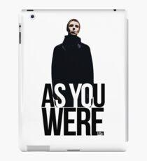 Liam Gallagher // As You Were Polarized image iPad Case/Skin