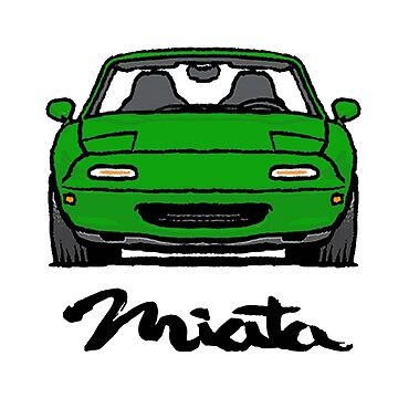 MX5 Miata NA Green by Woreth