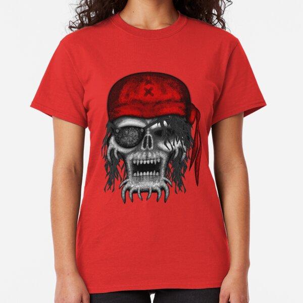 Errorface Pirate Skull Classic T-Shirt