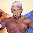 Shiro - Pride Flag by Angelique Roselli