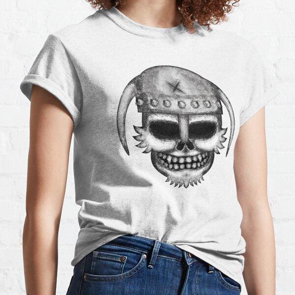Errorface Viking Skull Classic T-Shirt