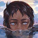 Lance Underwater by Angelique Roselli