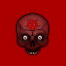 Errorface Red Skull by errorface
