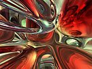 Sanguine Abstract by Alexander Butler