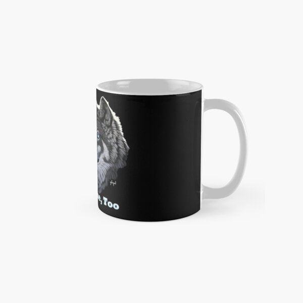 It's My Home, Too, blue-eyed wolf and earth Classic Mug