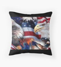 Eagle Flag Awesome Floor Pillow