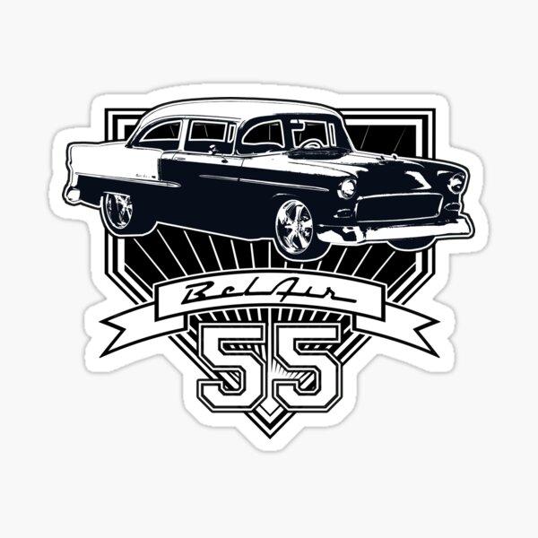 55 Chevy Bel Air Sticker