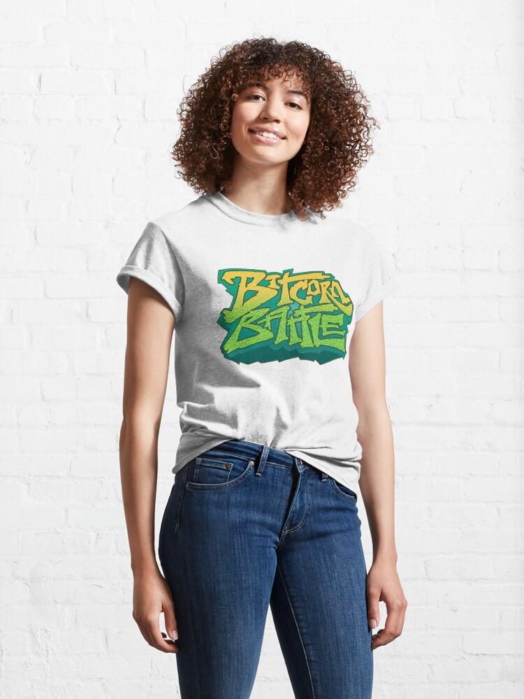 Alternate view of Bitcorn Battle Classic T-Shirt