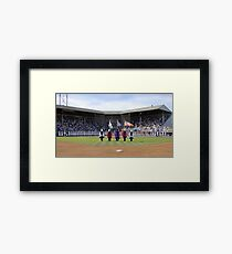 Eugene Emeralds' final game at Civic Stadium, opening ceremony. Framed Print