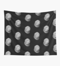 Rose from the Shadows Wall Tapestry